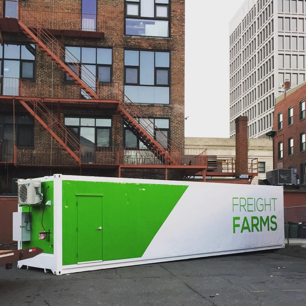Photo by Instagram @freightfarms